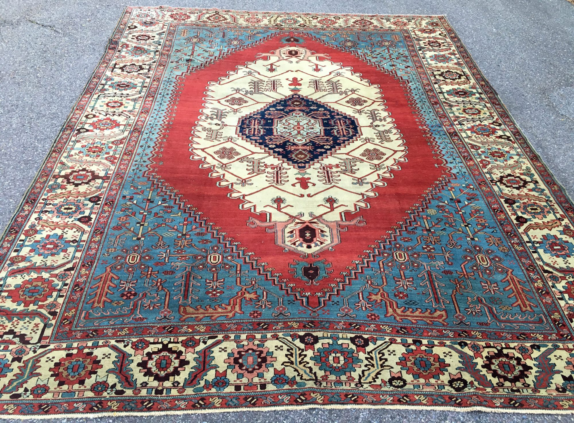 Antique Persian Carpets New Natural Dye Oriental Rugs