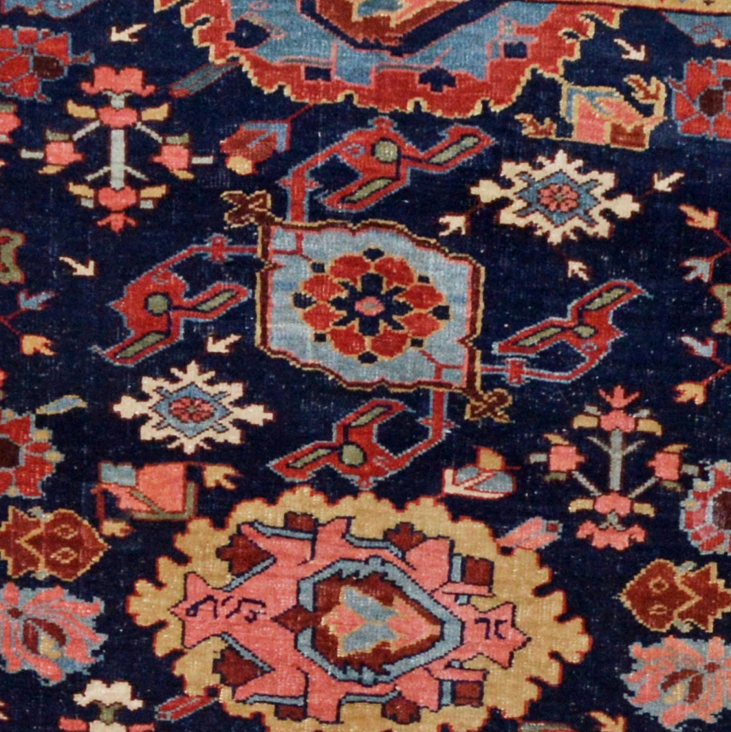 Antique Bidjar rugs, new Persian Bijar rugs